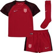 US National Team Nike Youth 2017 Third Kit - Red
