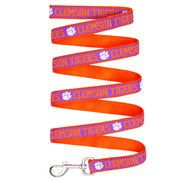 Pets First Clemson University Tigers Ncaa Dog Leash size: Small