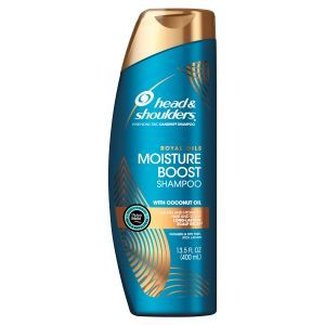 Head & Shoulders Head and Shoulders Royal Oils Moisture Boost Shampoo with Coconut Oil, 13.5 fl oz