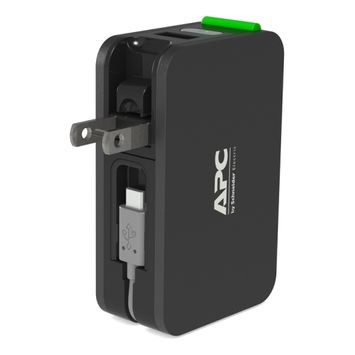 APC Mobile Power Pack, 3400mAh , Lithium-Ion, All-in-One charging solution, Black