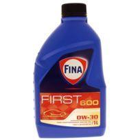 Bidon 1 litre d'huile moteur Fina First 600 0W30