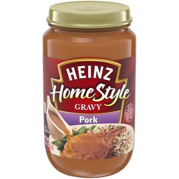 Heinz HomeStyle Pork Gravy, 12 oz Jar
