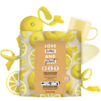 Love Home & Planet Citrus Yuzu & Vanilla Dishwasher Detergent Packets