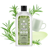 Love Home & Planet Tea Tree & Vetiver Dish Liquid