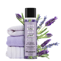 Love Home & Planet Lavender & Argan Oil Dry Wash Spray
