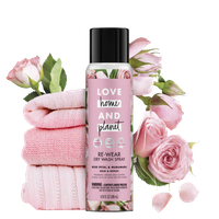 Love Home & Planet Rose Petal & Murumuru Dry Wash Spray