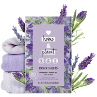 Love Home & Planet Lavender & Argan Oil Dryer Sheets