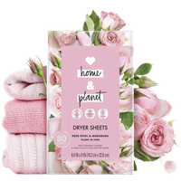 Love Home & Planet Rose Petal & Murumuru Dryer Sheets