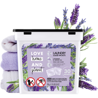 Love Home & Planet Lavender & Argan Oil Laundry Packets