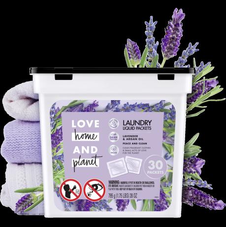 Love Home & Planet Lavender & Argan Oil Laundry Packets