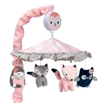 Lambs & Ivy Forever Friends Musical Baby Crib Mobile
