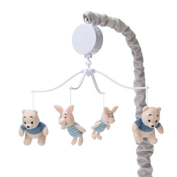 Lambs & Ivy Forever Pooh Musical Baby Crib Mobile