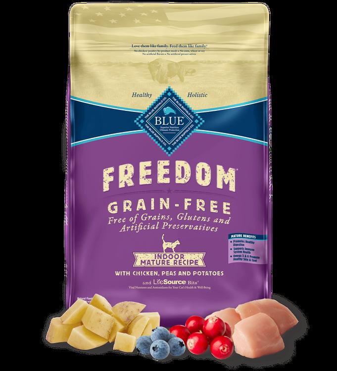 Blue Freedom™ Dry Cat Food Grain-Free Indoor Chicken Recipe