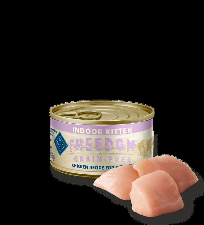 Blue Freedom™ Wet Kitten Food (Indoor) - Grain-Free, Chicken