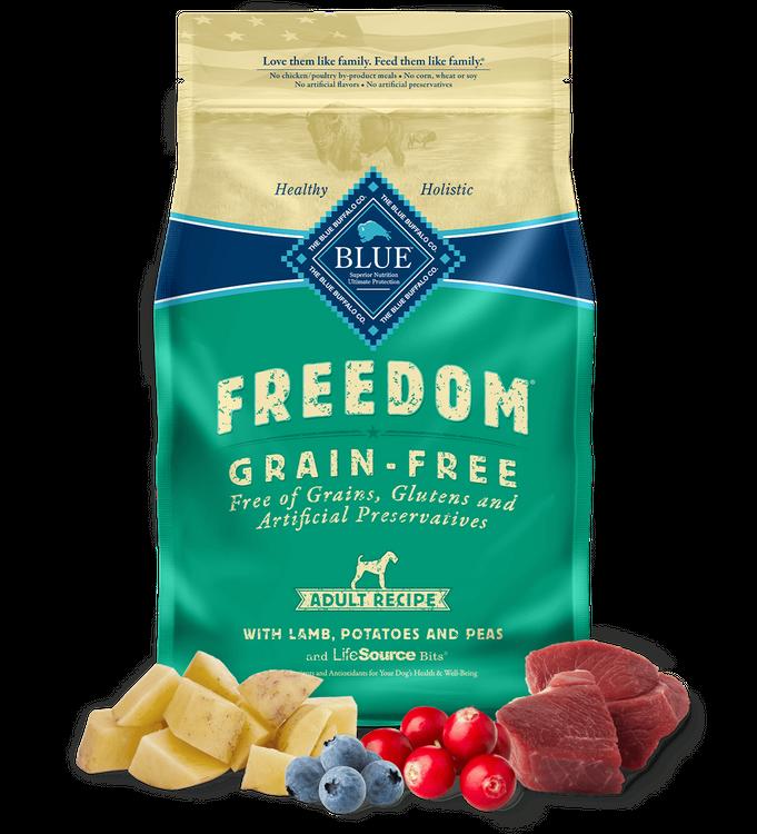 Blue Freedom™ Adult Dogs Dry Dog Food Grain-Free Lamb Recipe