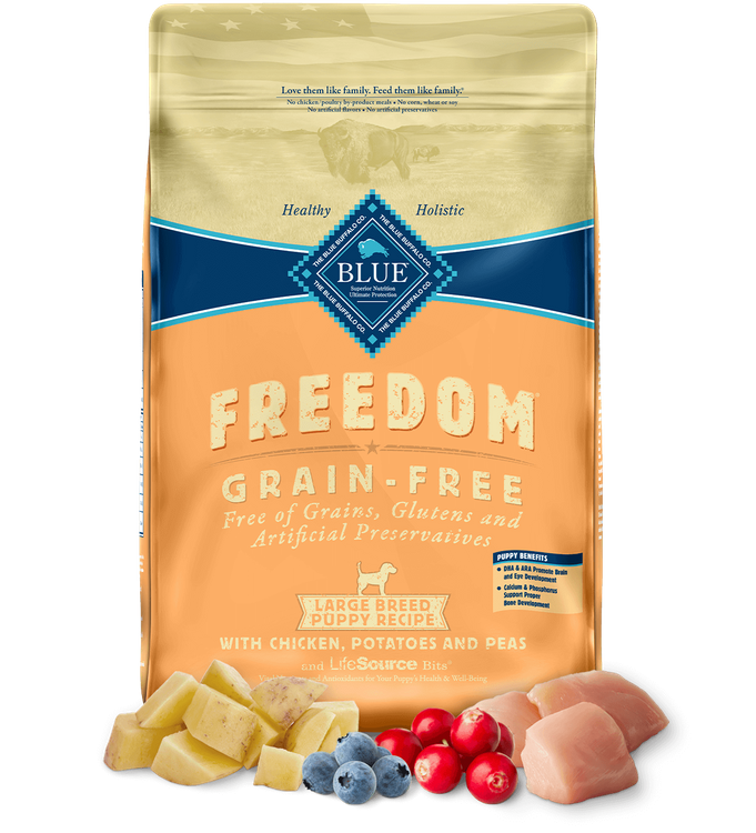 Blue Freedom™ Dry Puppy Food Grain-Free Chicken Recipe