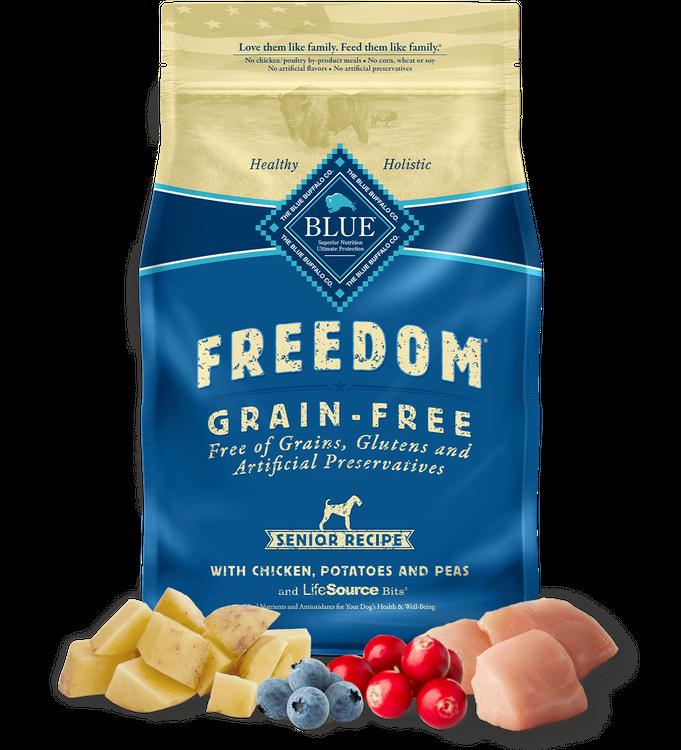 Blue Freedom™ Senior Dogs Dry Dog Food Grain-Free Chicken Recipe