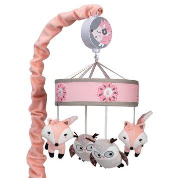 Lambs & Ivy Friendship Tree Musical Baby Crib Mobile