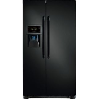 Frigidaire FFSC2323L 22.6 Cubic Foot Counter Depth Side-By-Side Refrigerator with Energy Saver Plus Technology and Store-More Drawers