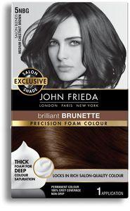 John Frieda Precision Foam Colour 5NBG Salon Blends Medium Chestnut Brown