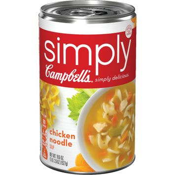 simplyCampbell's® Chicken Noodle, 18.6 oz.