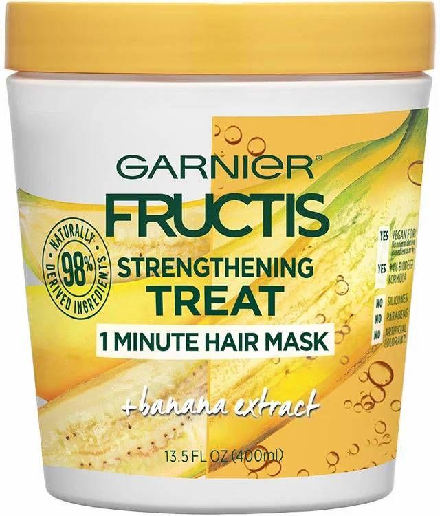 Garnier Strengthening Treat 1 Minute Hair Mask + Banana Extract