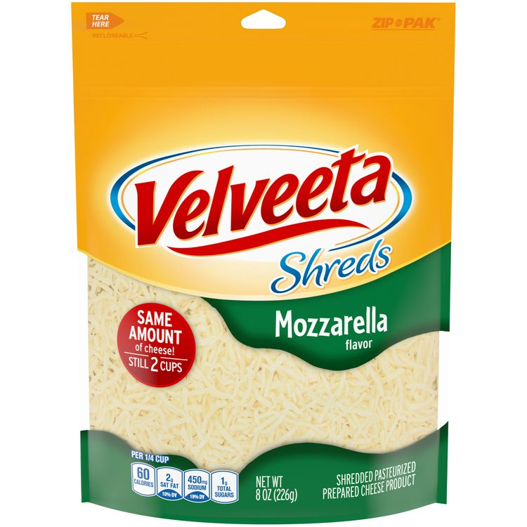 Velveeta Shreds Mozzarella Flavor