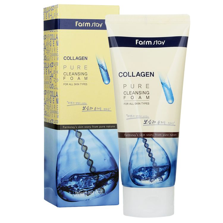 Farm Stay - Collagen Pure Cleansing Foam 180ml