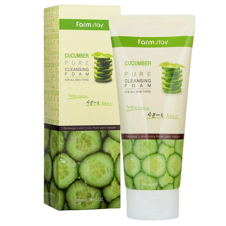 Farm Stay - Cucumber Pure Cleansing Foam 180ml