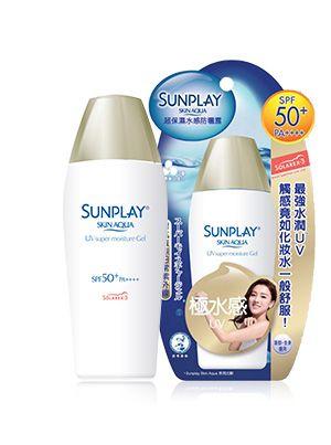 Mentholatum - Sunplay Skin Aqua UV Super Moisture Gel SPF 50+ PA++++ 80g