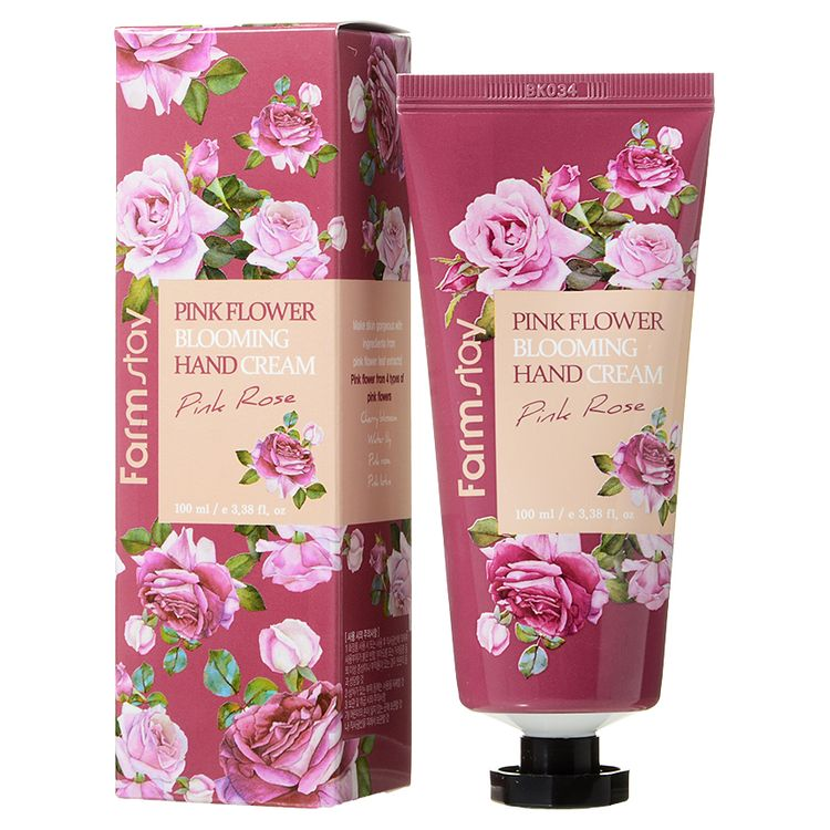 Farm Stay - Pink Flower Blooming Hand Cream (Pink Rose) 100ml
