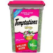 TEMPTATIONS Blissful Catnip Flavor