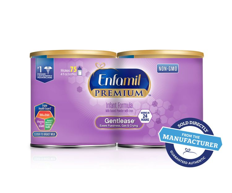 Enfamil Premium Gentlease, Milk-Based Formula, for Fussiness, Gas, and Crying, Powder