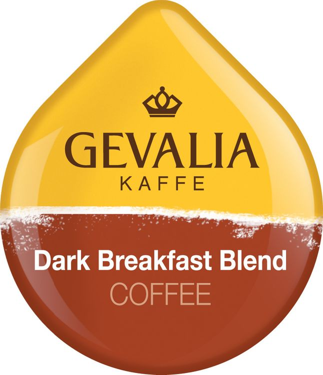 Gevalia Dark Breakfast Blend Coffee T-Discs, Caffeinated, 12 ct - 5.0 oz Package
