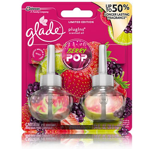 Glade® Berry Pop PlugIns Scented Oil 2 Refills