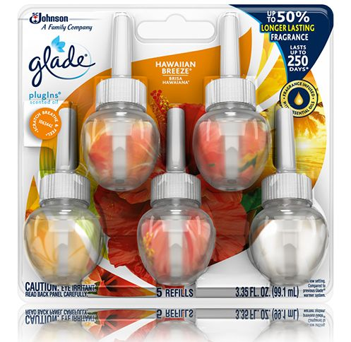 Glade® Hawaiian Breeze® Glade® PlugIns® Scented Oil - 5 Refills