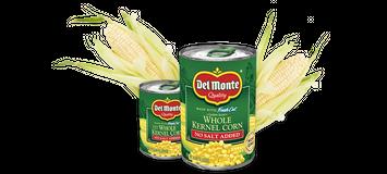 Delmonte Golden Sweet Whole Kernel Corn - No Salt Added