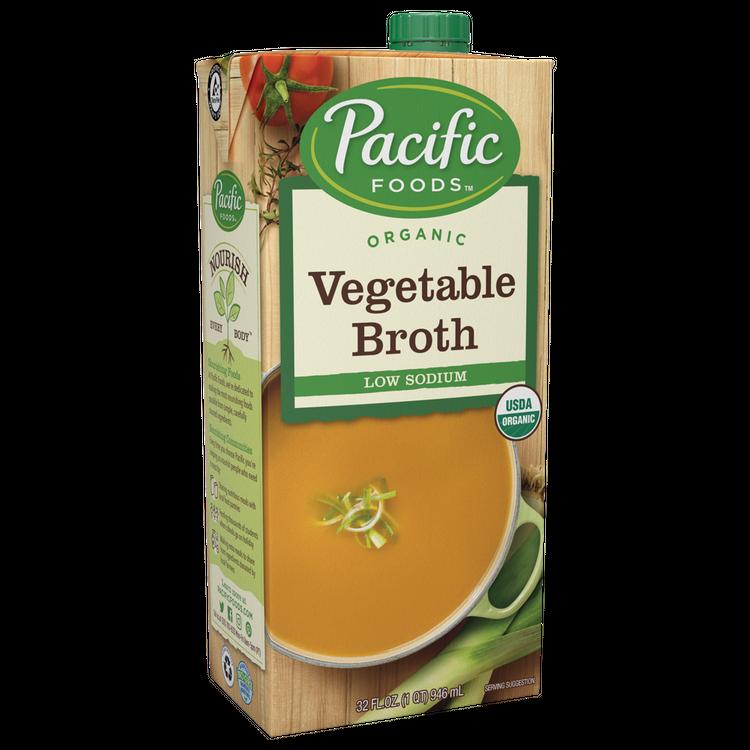Pacific Foods Organic Vegetable Broth, Low Sodium