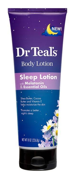 Dr Teals Melatonin Sleep Lotion 8oz