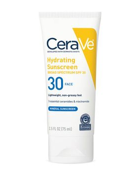 Cerave Hydrating Sunscreen SPF 30 Face Lotion
