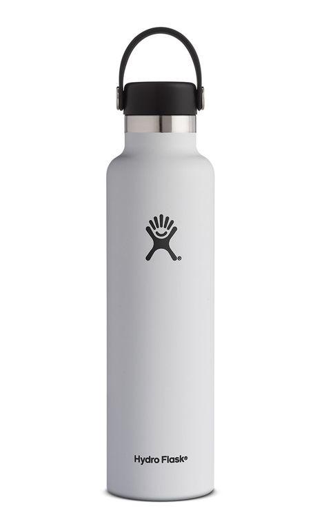 Hydro Flask 24 oz Standard Mouth - White