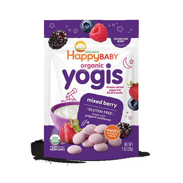 Happy Baby® Organics Yogis Mixed Berry