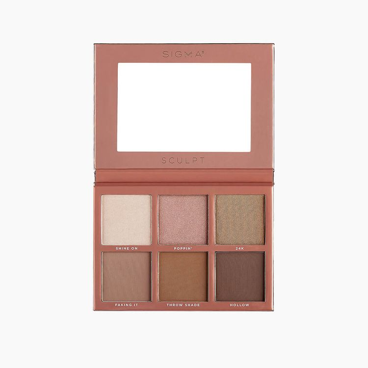 Sigma Beauty Sculpt Highlight + Contour Palette