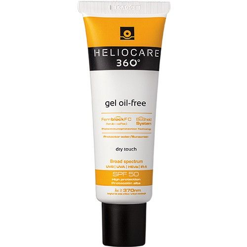 Heliocare 360° Gel oil-free SPF 50, 50ml