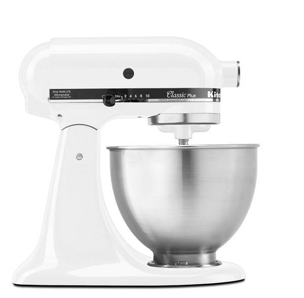 KitchenAid Classic Plus™ Series 4.5 Quart Tilt-Head Stand Mixer