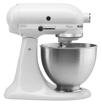 KitchenAid Classic™ Series 4.5 Quart Tilt-Head Stand Mixer