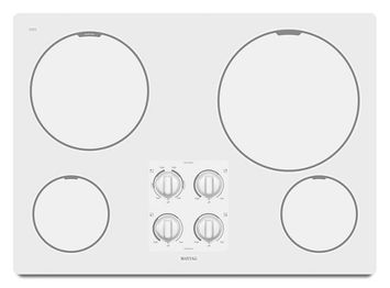 Maytag® 30-inch Electric Cooktop with Two Power Cook Burners