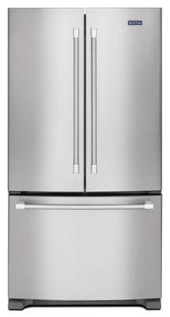 Maytag® 36-inch Wide Counter Depth French Door Refrigeratir - 20 cu. ft.