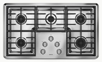 Maytag® 36-inch Gas Cooktop with Two Power Cook Burners