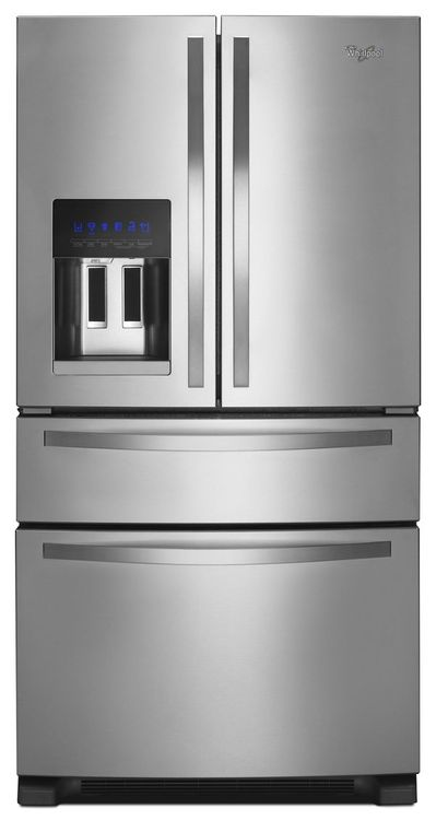 Whirlpool 36-inch Wide French Door Refrigerator with External Refrigerated Drawer - 25 cu. ft.